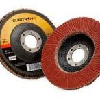Круг лепестковый торцевой  Cubitron 2, кубитрон второй, красный круг лепестки, круг зачистной