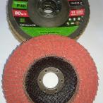 Круг лепестковый конический серии PROF 125*22, керамический круг, керамика для зачистки