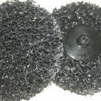 Диск с креплением Roloc™  Ф75мм чебурашка, щетка, жесткая губка