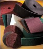 Нетканое абразивное волокно, нетканый материал, нетканка, мочалка,