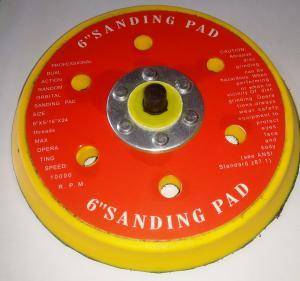 Подложка под диски самозацепляемые 1053, 15 пылеудаляющих отверстий, D150мм