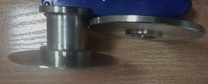 Адаптер для лепесткового круга 150х30х32, переходник, приставка, крепление лепесткового круга, лепесток на болгарку