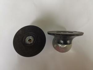 площадка, платформа, насадка под круг D75 с винтовым креплением типа ролок, Rololc, малый диаметр насадки, для шлифовки малыми кругами, мелкий диск