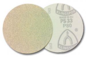 Круг,диск шлифовальный на липучке по лаку PS 33 BK, CK