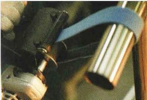 Адаптер ролик для накидных лент GS 04-R2, шайба для ремней, валик для пояса.